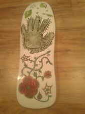 Ultra Rare ALVA Jesse Neuhaus Reissue Skateboard Deck - New - White