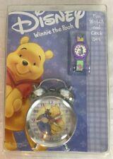 Disney Winnie The Pooh Fun Watch And Clock Set Eeyore Retired New