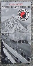 Northern Pacific Railroad 1963 Accomodations Brochure - smaller 4 panel