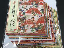 Origami Paper Washi Chiyogami Yuzen 30 Sheets 30 Design 150 × 150mm 074 JAPAN