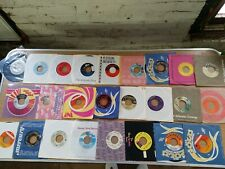 "Lot Of 25 Rock Pop Soul Country Disco 45 7"" Vg+ 1Q"