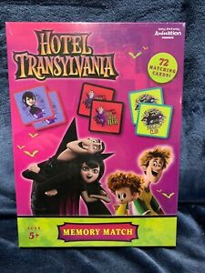Hotel Transylvania Memory Match Game 72 Matching Cards Ages 5+ Brand NEW Sealed