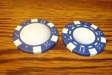 #1 GOLF BALL Photo Image Dice design Poker Chip,Golf Ball Marker, Card Guard   b