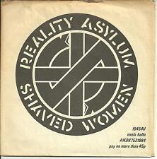 CRASS - SHAVED WOMEN / REALITY ASYLUM - 1979 PUNK (NO KR IN SHAVED WOMEN MATRIX)