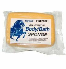 Hydra Fine Pore All Purpose Body Sponge For Horses 7 1/4 x 5 1/8 x 2 1/4 Usa