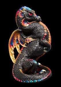 "Windstone Editions ""Black Monarch"" Emperor Dragon Test Paint #1"