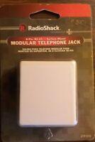 RadioShack 8-Pin Surface-Mount Phone Jack (White)279010