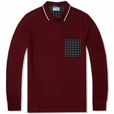 Fred Perry Casual Polo Neck Tops for Men