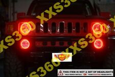 ORACLE Hummer H1 92-02 RED Surface Mount LED Headlight Halos Waterproof