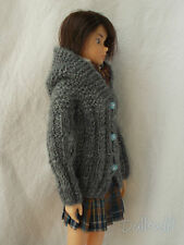 hooded cardigan, outfit, available for momoko,pullip,fashion royalty, barbie...