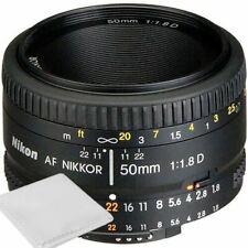 Nikon 50mm f/1.8D Af Nikkor Lente Para Cámaras SLR Digital Nikon - * NUEVO *