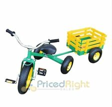 Valley CART042 Classic Tricycle with Wagon Set