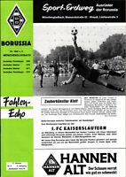 BL 73/74 Borussia Mönchengladbach - 1. FC Kaiserslautern, 17.10.1973