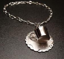 VINTAGE CHAMPION COFFEE MAKER MUG CHARM BRACELET LAMODE STERLING SILVER 925