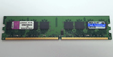 8Gb (2x 4GB) Kingston DDR2 Dimm PC Desktop Memory RAM 667mhz KVR667D2N5/4G