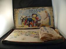 WITHO Jeu société jeu des richesses de France en boite années 1940 Willemetz