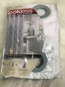 "Hookless  Shower Curtain (71"" x 74)"
