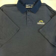 New listing Men's San Diego Chargers Cutter & Buck Polo Shirt Short Sleeve4 Sz Large