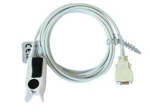 SPO2 Adult Finger Sensor for ZOLL E M R Series Monitor Pulse Oximetry, 8 feet