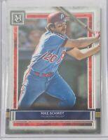 MIKE SCHMIDT 2020 TOPPS MUSEUM COLLECTION CARD #67 PHILADELPHIA PHILLIES MLB HOF
