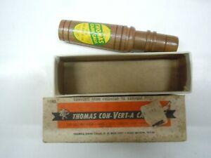 Vintage  Thomas Game Call , Con-Vert-A Call with box #143