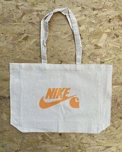 Nike x Carhartt Reusable Tote Bag Natural/Off-White/Orange