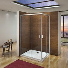 120x90x185cm Duschkabine Duschabtrennung Schiebetür Duschwand Eckeinstieg Dusche