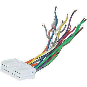 Mitsubishi Chrysler Plugs Into Factory Radio Car Stereo CD Player Wiring Harness