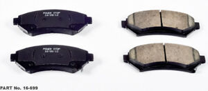 Frt Ceramic Brake Pads Power Stop 16-699