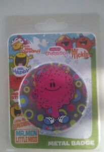 Mr Men Little Miss badge Birthday Favours Party collectors