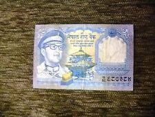 Nepal 1 Rupee banknote year 1974. Free shipping