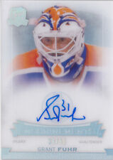 14-15 The Cup Grant Fuhr /50 Auto ENSHRINEMENTS Oilers 2014