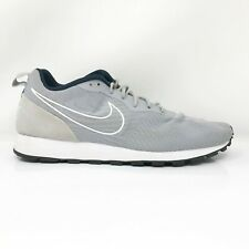 Nike Mens MD Runner 2 902815-001 Gray Running Shoes Lace Up Low Top Size 11