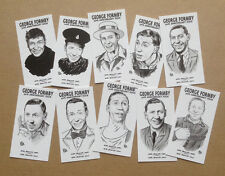 GEORGE FORMBY 50TH ANNIVERSARY COLLECTABLE CARD SET
