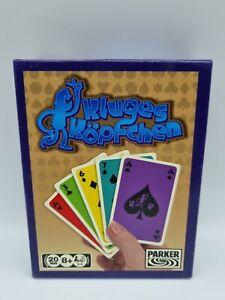Kluges Köpfchen Parker Kartenspiel hasbro 2007