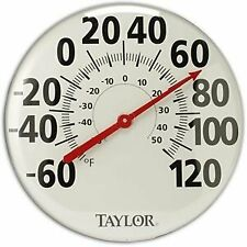 Taylor Precision #681 Patio Thermometer, 18 in.