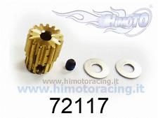 72117 PIGNONE MOTORE 15 DENTI RICAMBIO PER FORMULA CAR 1/10 HIMOTO Gear Set 1 PZ