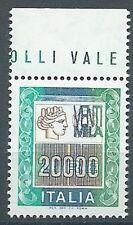 1987 ITALIA ALTO VALORE 20000 LIRE MNH ** - ED3