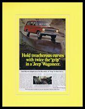 1967 Jeep Wagoneer Framed 11x14 ORIGINAL Vintage Advertisement