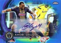 2014 Topps Chrome Major League Soccer - Base Autographs Blue Parallel /99 - Pick