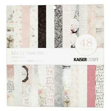 NEW Kaisercraft Floral Romance Paper Pad By Spotlight