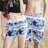 Women's Men's Surf Boardshorts Board Shorts Sports Beach Swim Pants Trunks