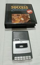 AMERICAN BUSINESS MANAGEMENT SUCCESS AUDIO CASSETTE PLAYER &  LIBRARY (AUDIO BOO