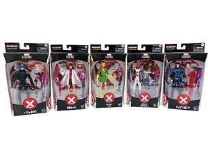 Marvel Legends Set Of 5 Xmen Action Figures House of X Tri Sentinel BAF NEW Toy