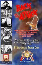 BACK THE ATTACK WWII Propaganda Films 1940-45 Ltd Ed LOT of 6 sealed DVDs