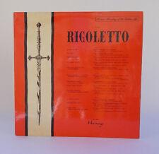 Verdi Rigoletto LP 33 giri Vinile XIG 8014 Heritage Enrico Caruso Titta Ruffo