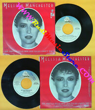 LP 45 7'' MELISSA MANCHESTER You should hear how she talks about no cd mc dvd