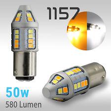 High Power 1157 Type 1 Switchback White/Amber 2835 LED Turn Signal 580LM Light