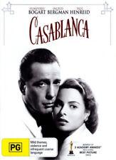 Casablanca Movie DVD R4 Humphrey Bogart