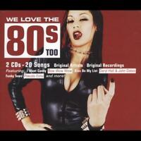 VARIOUS ARTISTS - WE LOVE THE 80'S TOO NEW CD